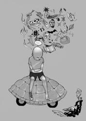 Mad world by Mielytu