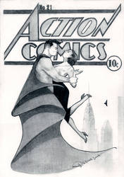 Superman Action Comics by Mielytu