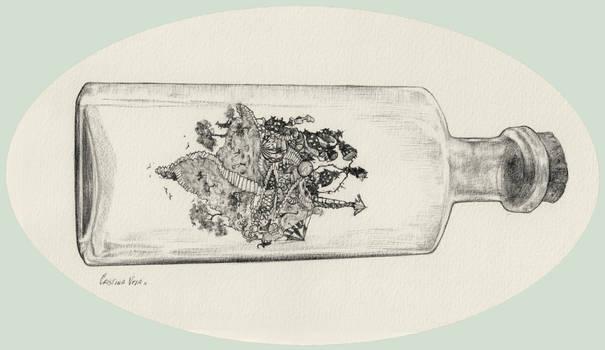 Detail Fairyland in a bottle