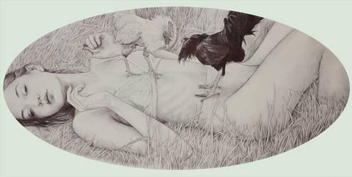 Chica Gallos by Mielytu