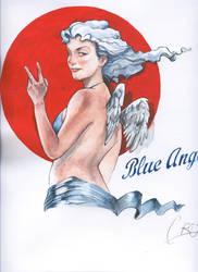 Blue Angel by Mielytu