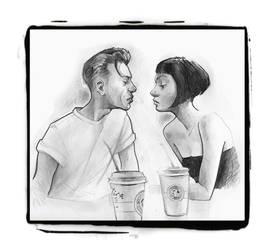 Starbucks by Mielytu