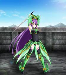 Sigrun Freyadottir The Emerald Valkyrie