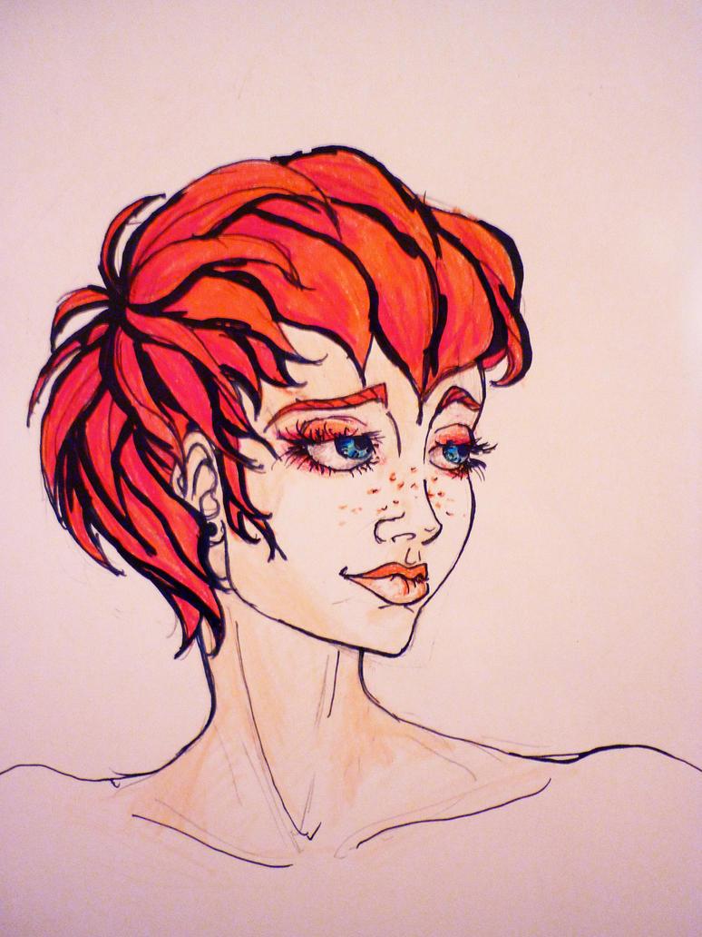 Redhead by Sabal33