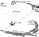 Carte des alentours de l'Oasis des Deux Lunes by wiesmann