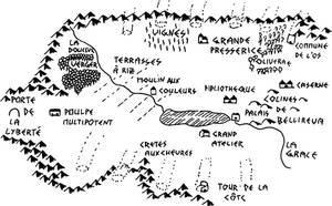Carte Oasis de la Baleine by wiesmann