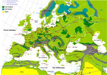 Carte Europe 2296