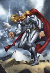 Thor Print C2E2 2011 by Iron-Odin