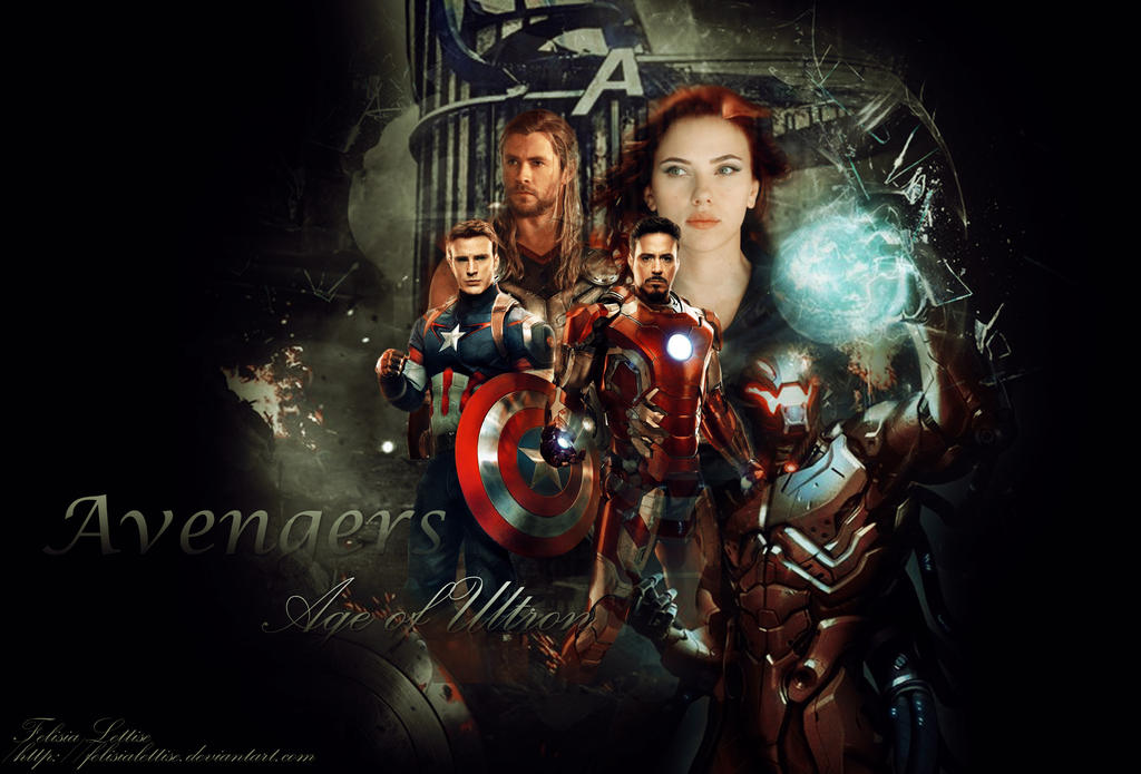 Avengers Age Of Ultron By Iloegbunam On Deviantart: Avengers: Age Of Ultron By FelisiaLettise On DeviantArt