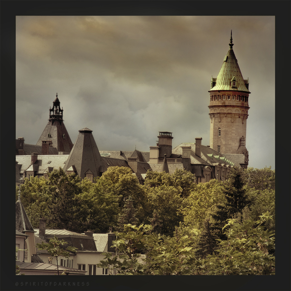 Roofs of Luxembourg by Spiritofdarkness