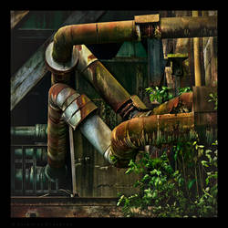 Rusty Pipes by Spiritofdarkness