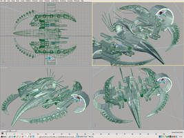 Scorpion_Heavy Fighter prev.03 by Spiritofdarkness