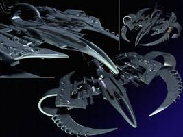 Scorpion_Heavy Fighter prev.04 by Spiritofdarkness