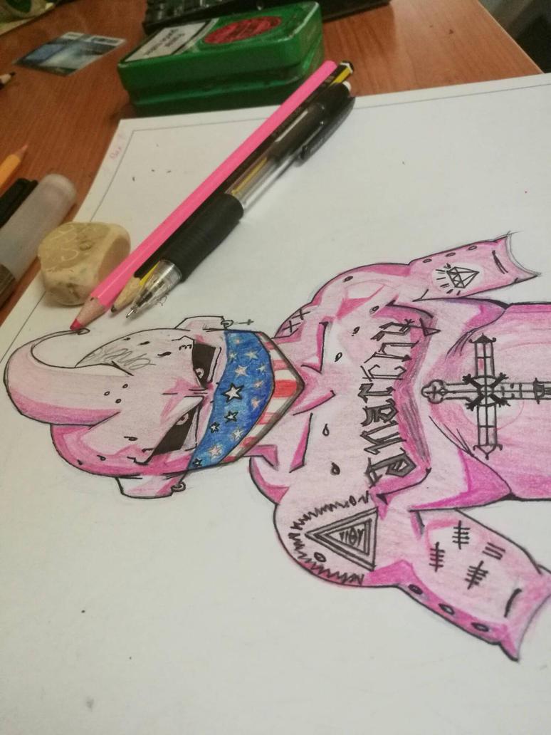 #magicboo #boo #dbz #dragonball #wankers by enagur