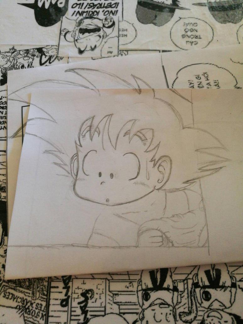 Goku #dbz #goku #songoku  by enagur