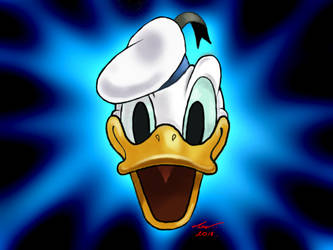 Donald Duck by niveky