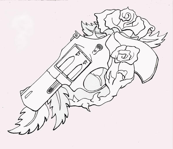 Tattoo Machine Line Drawing : Line drawng by turtletim on deviantart