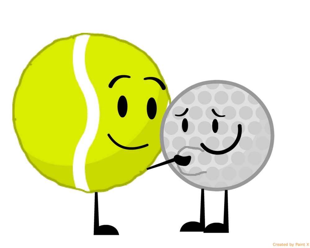 Genial Tennis Ball Ruping Golf Ballu0027s Stomach By Thedrksiren ...