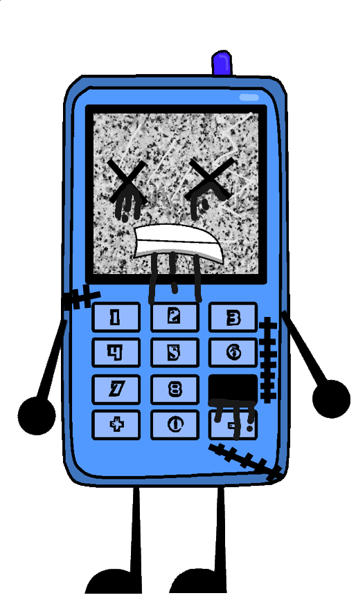 Phone As A Zombie Vector by thedrksiren