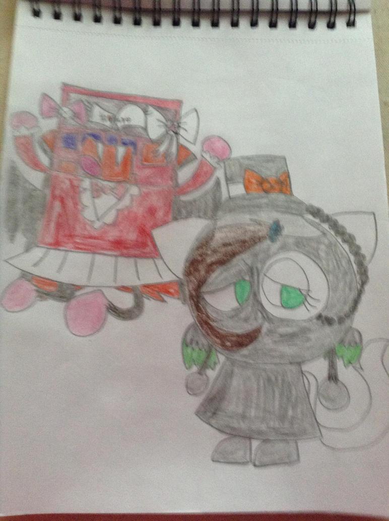 Vampire Siren , Kitty Phantom ( me ) Kindra by thedrksiren