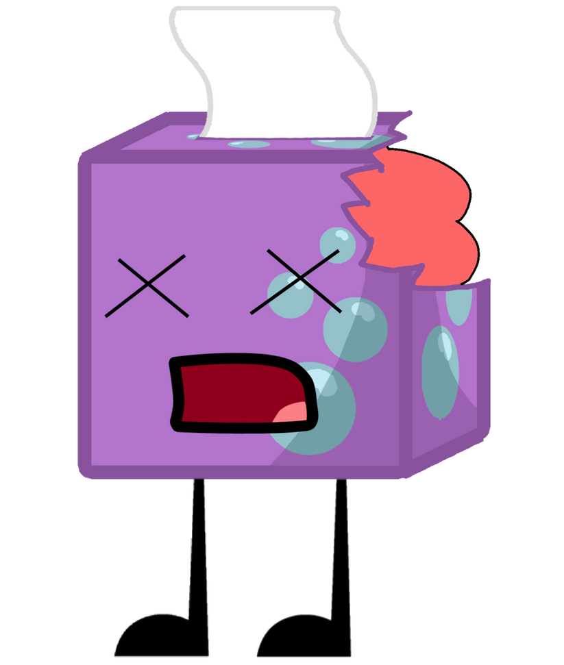 Tissue Box As A Zombie Vector by thedrksiren