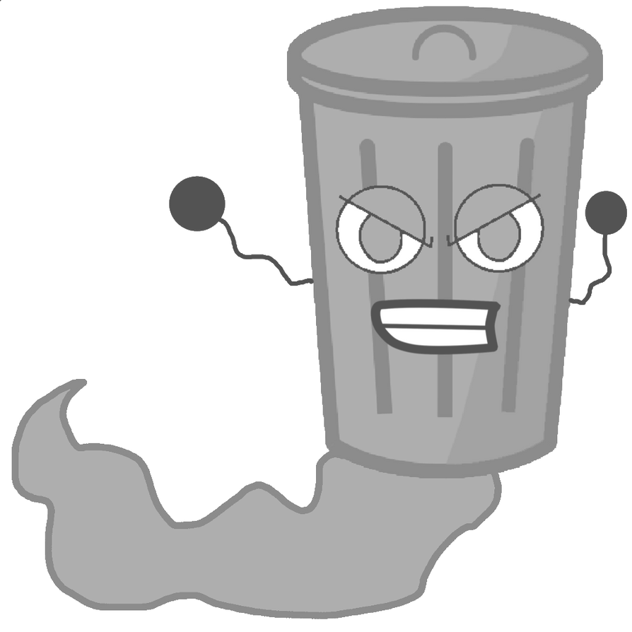 Trash Can As A Ghost Vector by thedrksiren