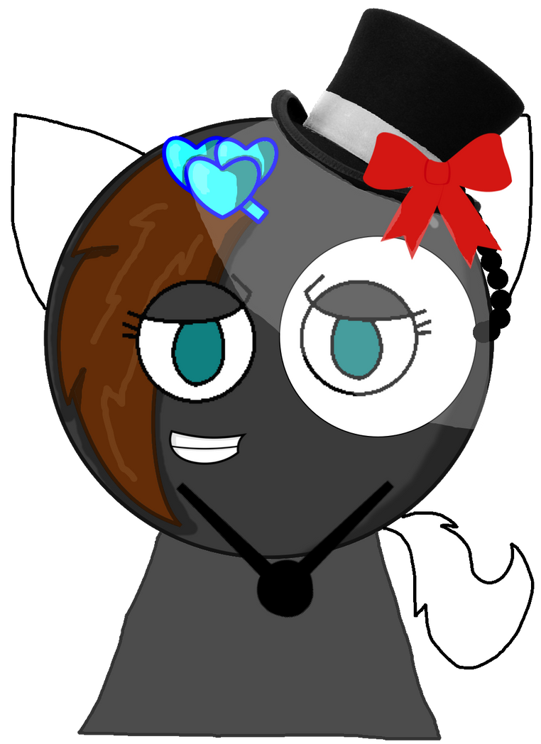 ( Me ) Kindra As A Phantom/kitten Vector by thedrksiren
