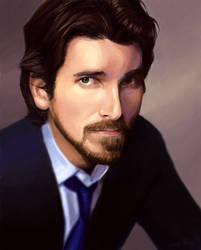 Christian Bale by aragornbird