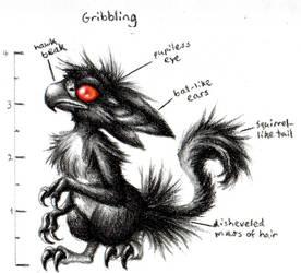 Gribbling Anatomy by aragornbird