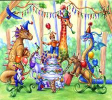 Fantastic Birthday Party by aragornbird
