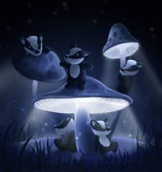 Mushroom Mushroom by aragornbird