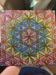 Spectral flower of life fractal grid