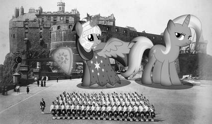 Dundee Invasion: Equines At Edinburgh by SomeRandomMinion