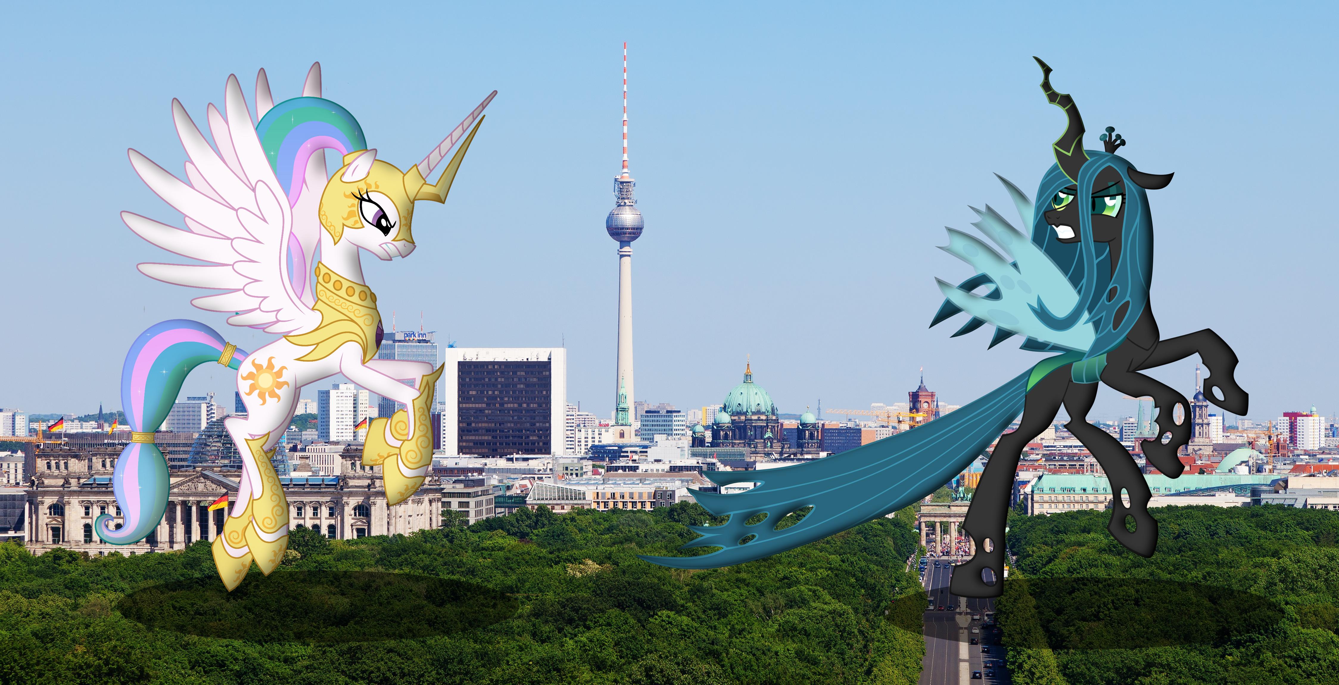 Royal Battle In Berlin by SomeRandomMinion