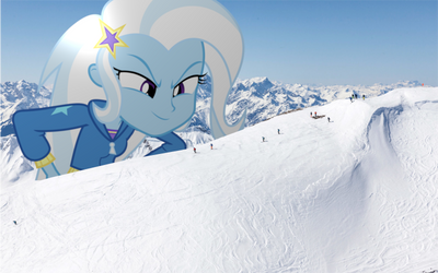 Snatching Skiiers