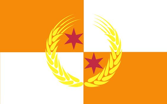 Flag of the Kulesian-Mazlander Commonwealth