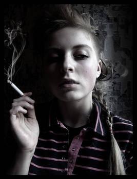 scissors smoke