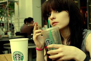 starbucks coffee by ladymonroe
