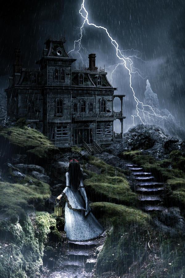haunted mansion by 222maya