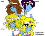 Daft Punks Crescendolls by TheForestSage