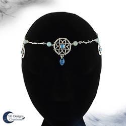 Dream catcher circlet Pentagram headpiece by Nyjama