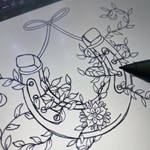 Horseshoe digital sketch