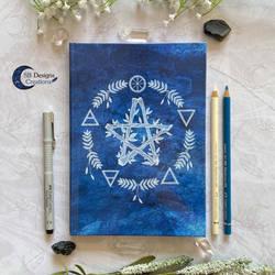 Pentagram Elemental Magick Journal A5