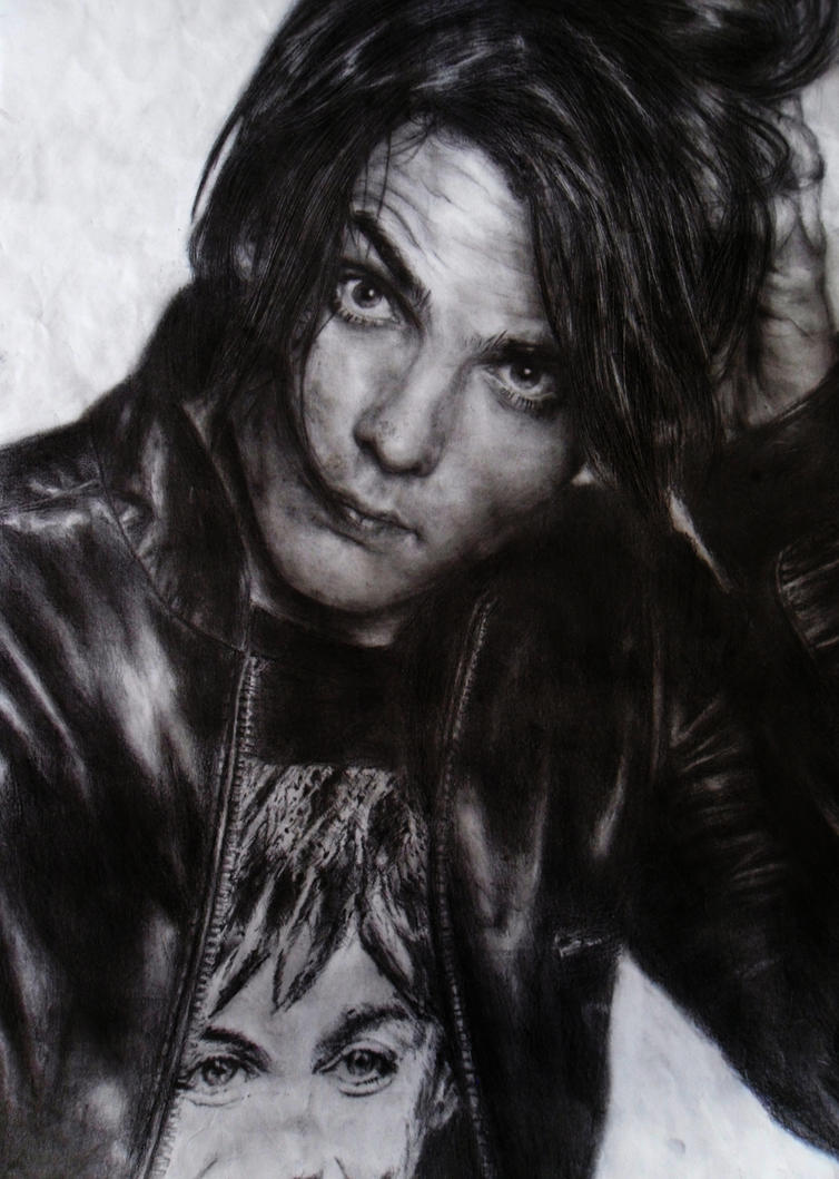 Gerard Way Pencil by radarlove413