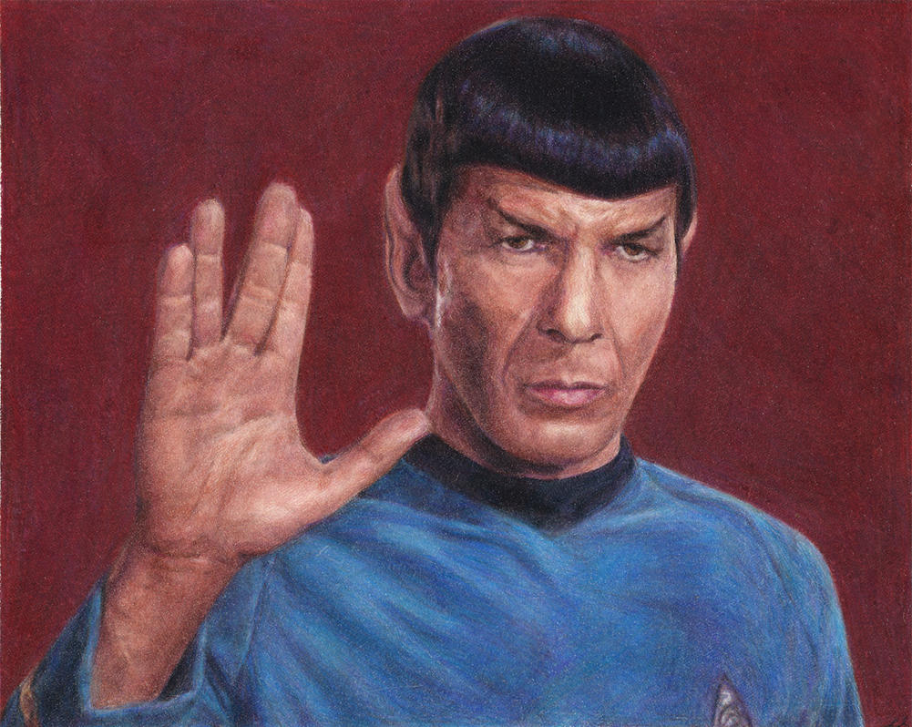 Spock by radarlove413