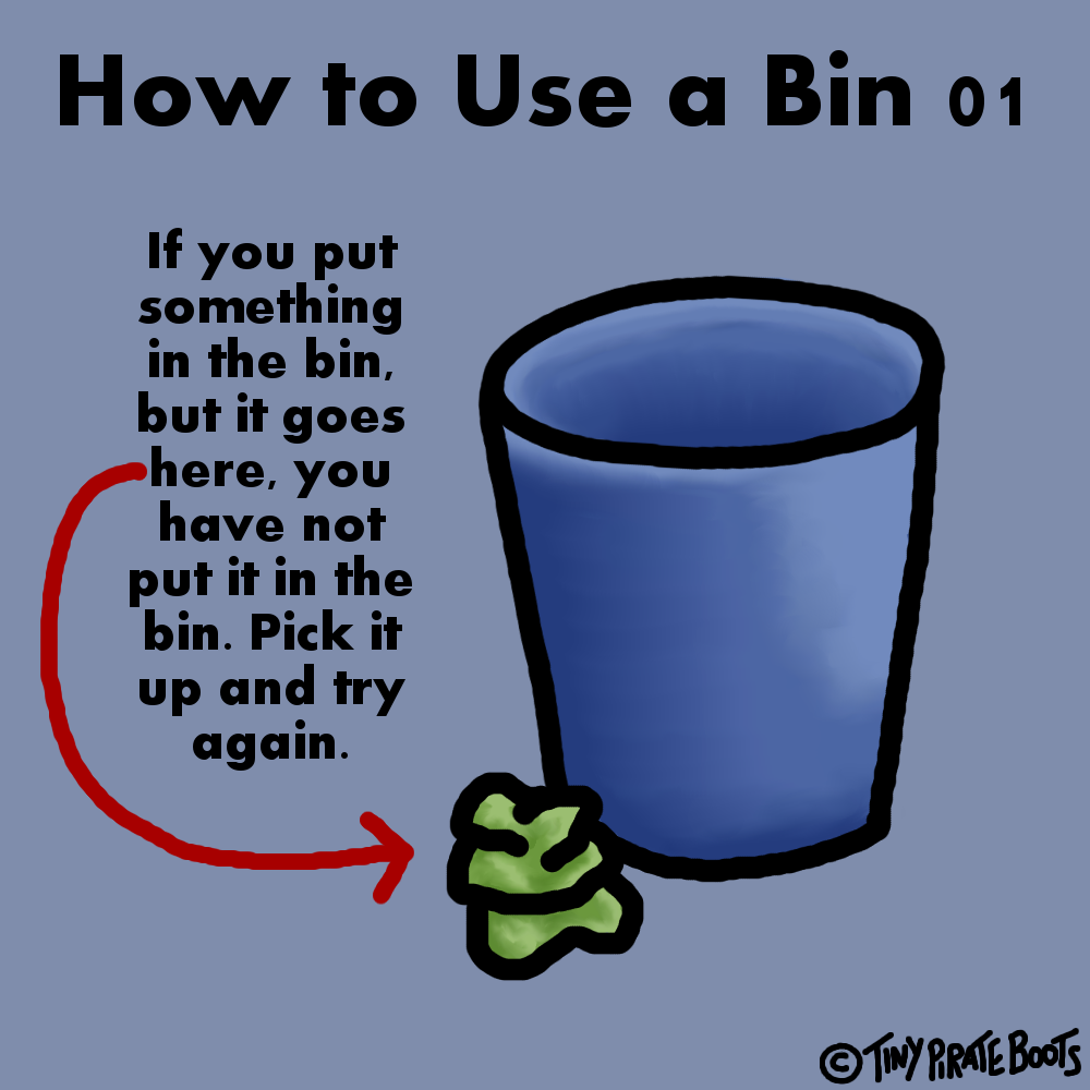 12-01-14 How to Use a Bin 01 by TinyPirateBoots on DeviantArt