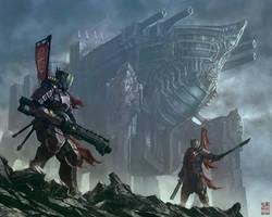 Ashigaru guard-