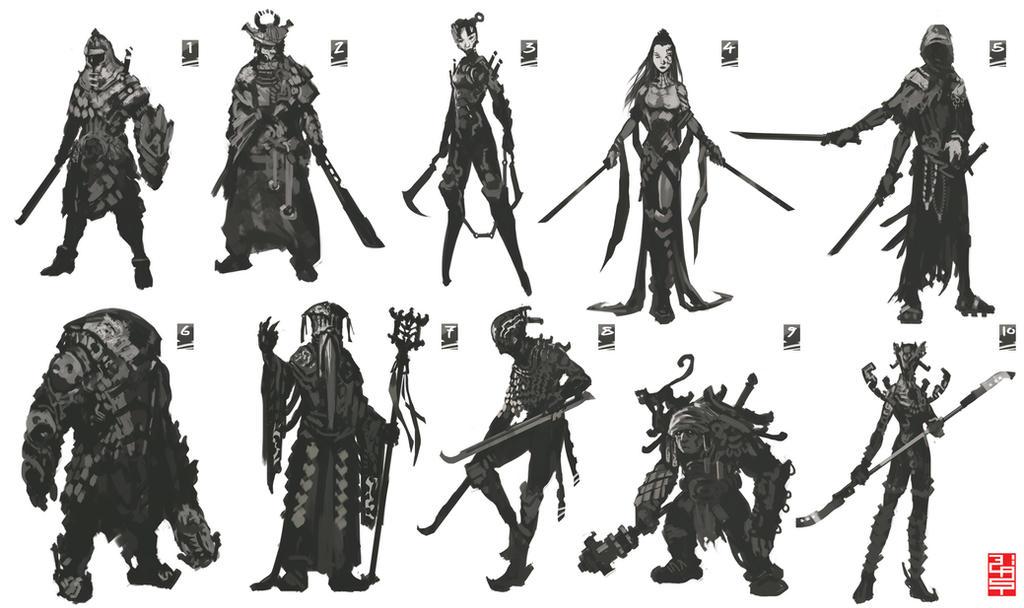 character thumbs- by XRobinGoodFellowX