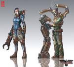 Walkure RPG characters-