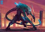 Biomech Fighter-